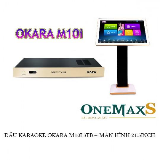 Đầu karaoke OKARA M10I 4TB + Màn hình 21,5 inch