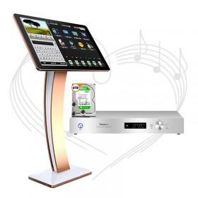 Đầu karaoke Việt Ktv HDPLUS 6TB + Màn hình cảm ứng 22inch