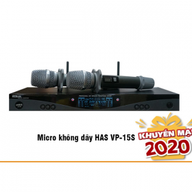 Micro không dây HAS VP-15S