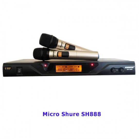 Micro Shure SH888