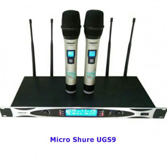 Micro Shure UGS9
