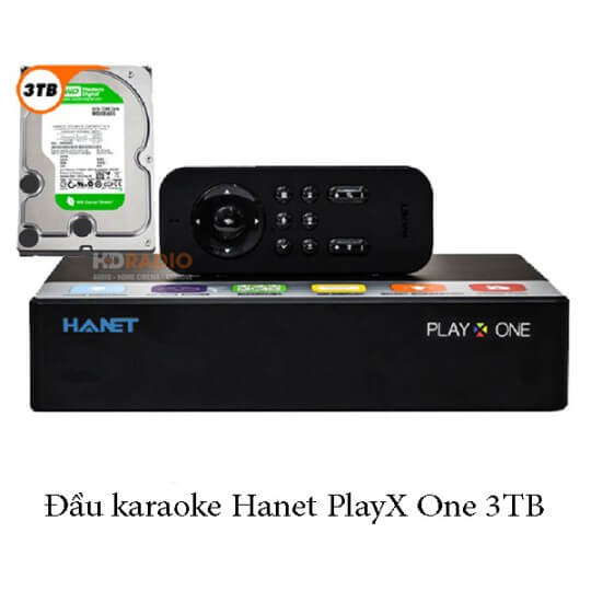 Đầu karaoke Hanet PlayX One 3TB