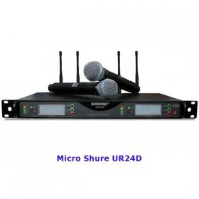 Micro Shure UR24D