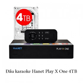 Đầu karaoke Hanet Play X One 4TB