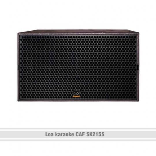 Loa karaoke CAF SK215S