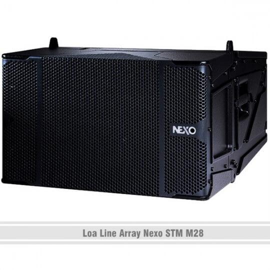 Loa karaoke Nexo Line Array STM M28