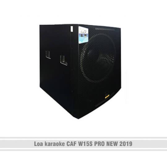 Loa siêu trầm CAF W15S Pro new 2019