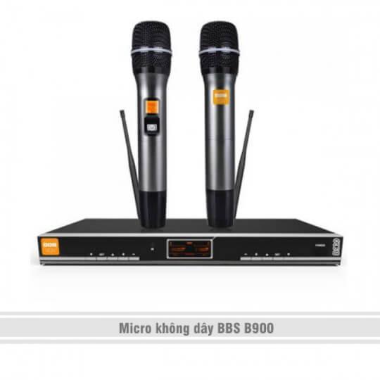 Micro không dây BBS B900