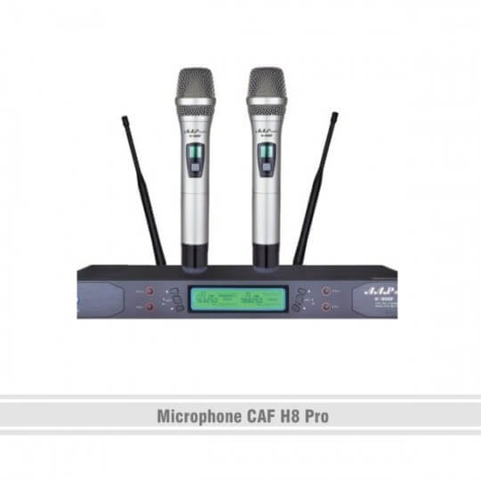 Microphone CAF H8 Pro