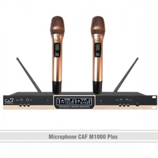 Microphone CAF M1000 Plus