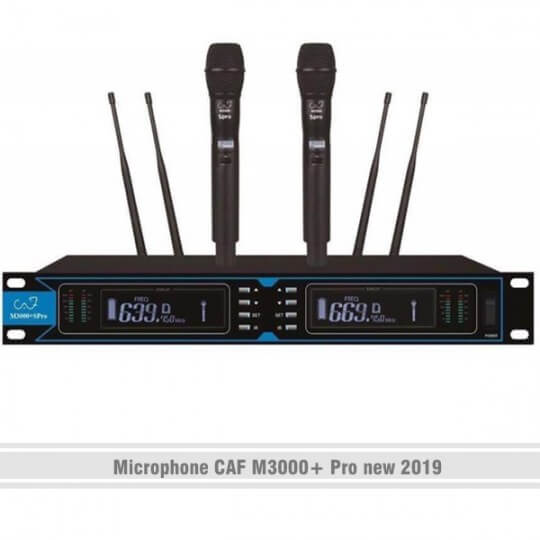 Microphone CAF M3000+ Pro new 2019