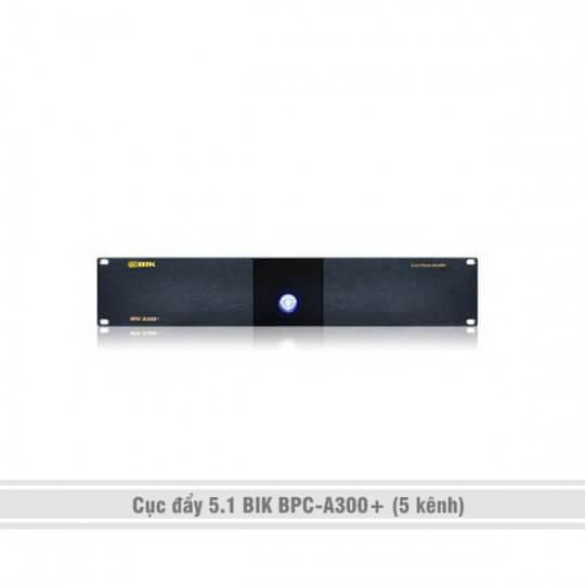 Cục đẩy 5 kênh (5.1) BIK BPC-A300+
