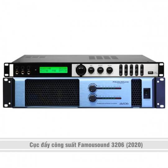 Cục đẩy công suất Famousound 3206 (2020)