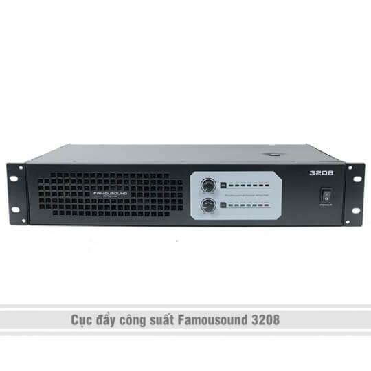 Cục đẩy công suất Famousound 3208
