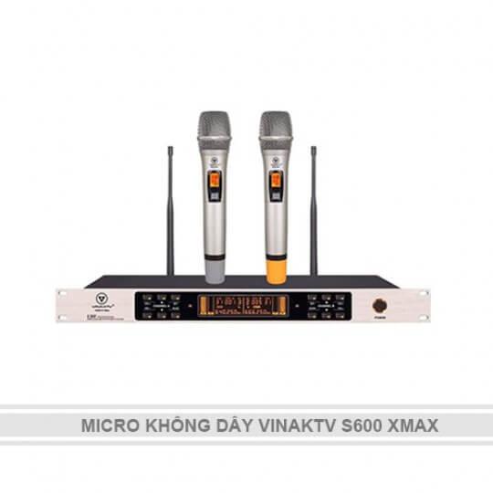 MICRO KHÔNG DÂY VINAKTV S600 XMAX