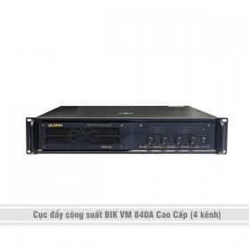 Cục đẩy công suất BIK VM 840A Cao Cấp (4 kênh)