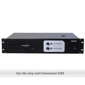 Cục đẩy công suất Famousound 3206