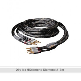 Dây loa HiDiamond Diamond 2 (3m)