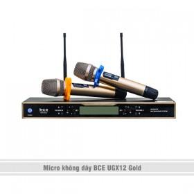 Micro không dây BCE UGX12 Gold