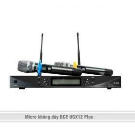 Tay micro không dây BCE UGX 12 Plus