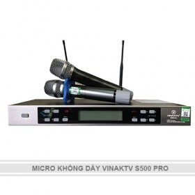 MICRO KHÔNG DÂY VINAKTV S500 PRO
