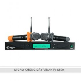 MICRO KHÔNG DÂY VINAKTV S600