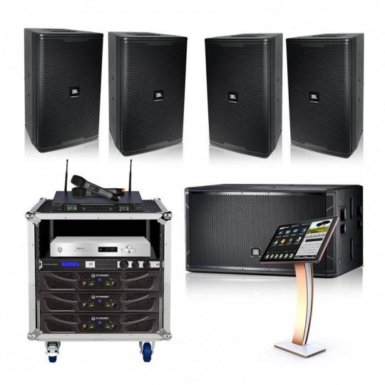Combo cấu hình loa JBL phòng karaoke 25-30m2 sàn