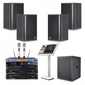 Combo âm thanh karaoke 4 Acaustic 20 đến 25 m2 sàn