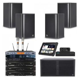 Combo âm thanh karaoke 4 Acaustic 25 đến 30 m2 sàn