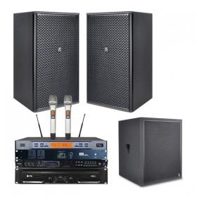 Combo âm thanh karaoke 4 Acaustic dưới 20 m2 sàn