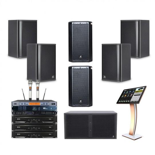 Combo âm thanh karaoke 4 Acaustic 30 đến 35 m2 sàn