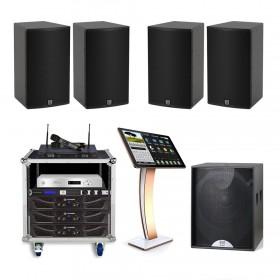 Cấu hình âm thanh Martin phòng karaoke 20 đến 25 m2 sàn