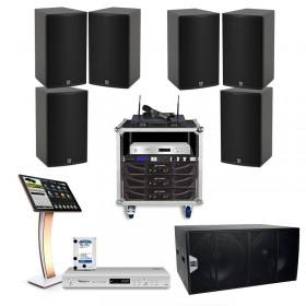 Cấu hình âm thanh Martin phòng karaoke 30 đến 35 m2 sàn