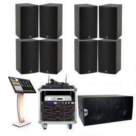 Cấu hình âm thanh Martin phòng karaoke 35 đến 40 m2 sàn