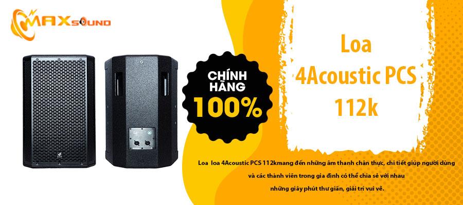 loa 4 Acoustic PCS 112k