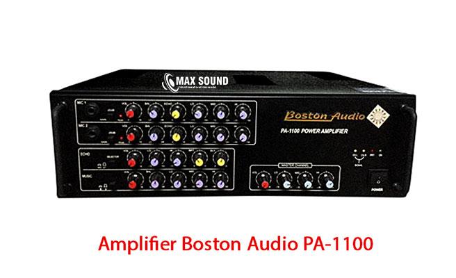 Amply Boston 1100 chính hãng đang có bán tại Max Sound