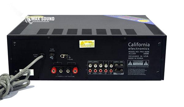 Amply California 468B gọn nhẹ, dễ phối ghép