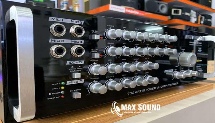 Amply Paramax 999 được trang bị công nghệ hiện đại