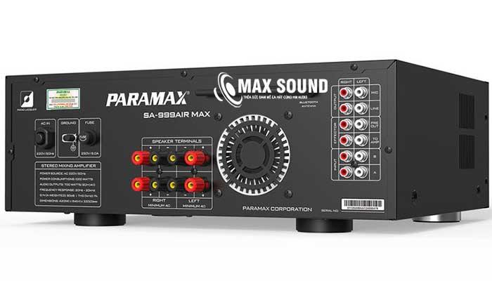 Amply Paramax 999 phối ghép dễ dàng