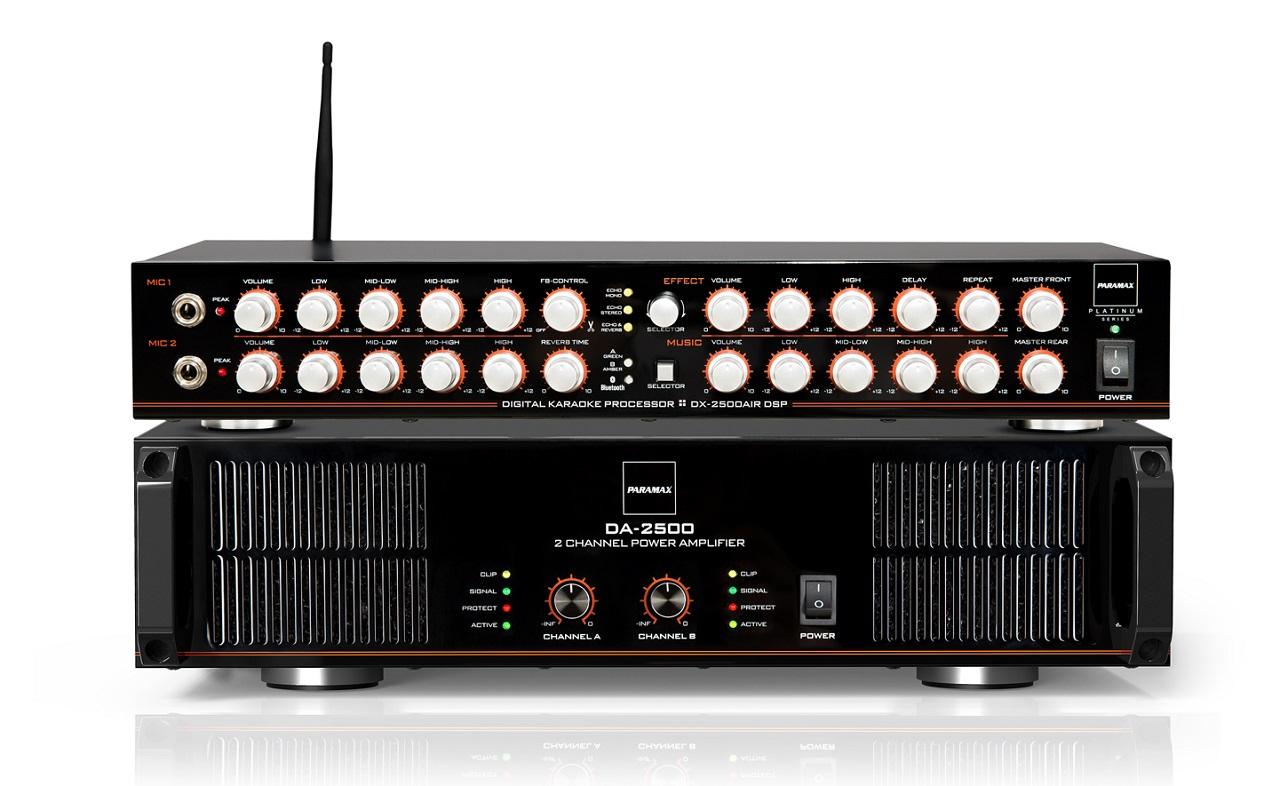 Công xuất Paramax DA 2500 và DX 2500