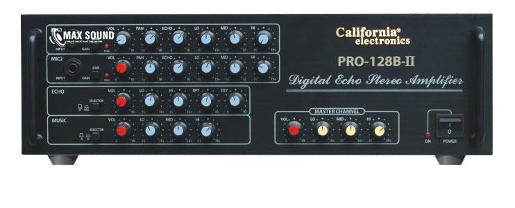 Amply California 128B sở hữu thiết kế hiện đại - sang trọng