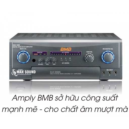 Amply BMB cho chất âm mượt mà