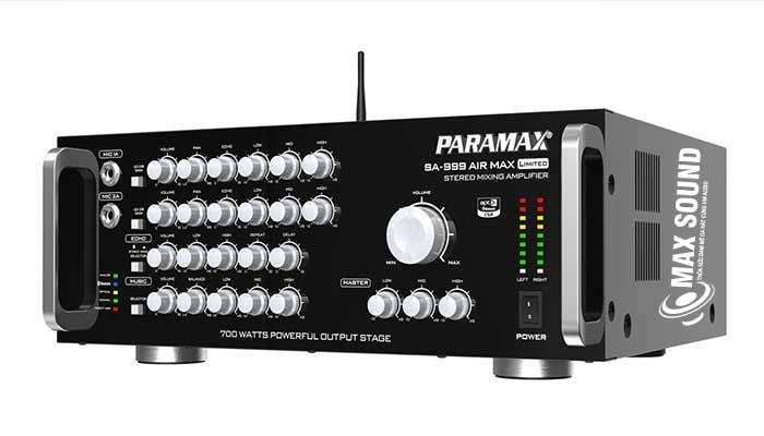 Amply Paramax công suất mạnh mẽ