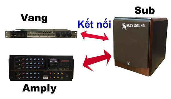 Kết nối loa sub và vang số đúng cách sẽ tạo nên chất lượng âm thanh tốt hơn