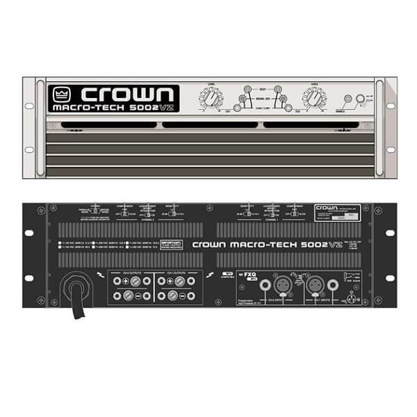 Cục đẩy crown chuyên dụng cho karaoke