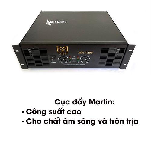 Cục đẩy Martin cho chất âm sáng và sắc nét