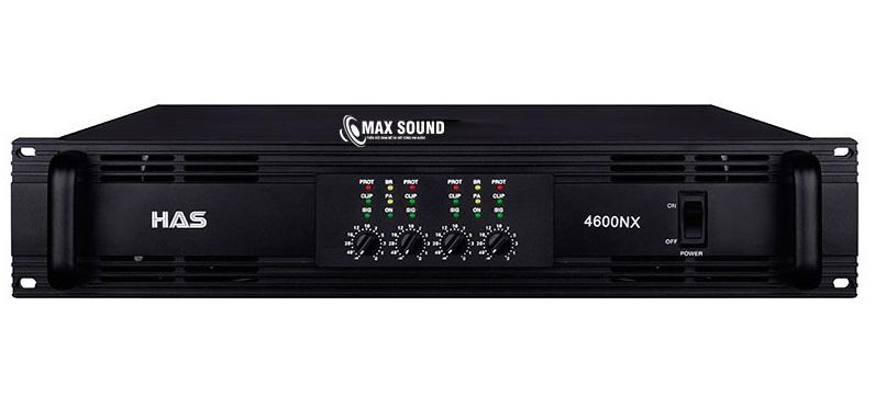 Cục đẩy 4 kênh HAS 4600NX