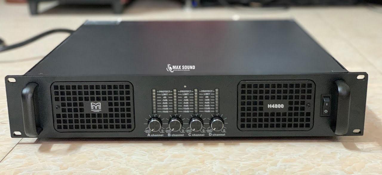 Cục đẩy 4 kênh Martin H4800