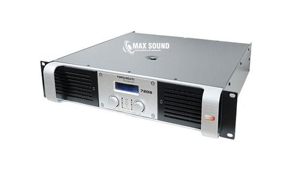 Cục đẩy Famousound 7208 tạo ra dải âm cực mượt mà