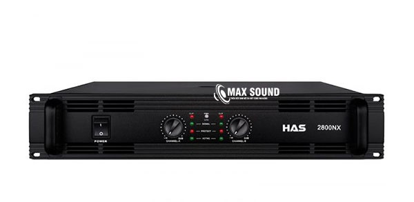 Cục đẩy HAS 2800NX sở hữu hệ thống tản nhiệt thông minh